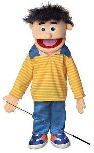 25 PRO PUPPETS / FULL BODY BOY PUPPET , BOBBY