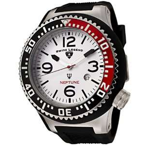 Swiss Legend Mens 21818P 02 RB Neptune Collection Black Textured