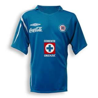 06 07 Cruz Azul home   $66.85  Football Shirts, Football Kit and