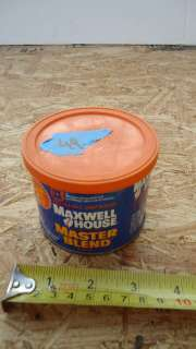 MAXWELL HOUSE MASTER BLEND COFFEE EMPTY TIN CAN