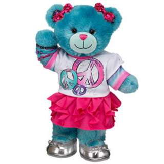 Fashionably Fuchsia BFF Flower Bear   Build A Bear Workshop US