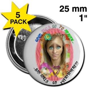 Bad GirlGood Girl  Buttons small 25 mm designed by FunnyLara