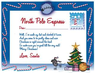 Printable Letter From Santa!  Python Printable Games