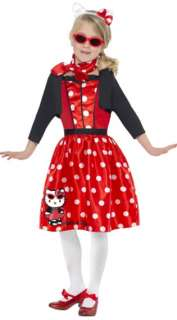 Hello Kitty Retro 50s Cherry Child Costume  General Kids Costumes