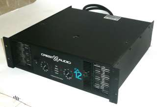 Crest Audio CA12 Power Amplifier Amp CA 12