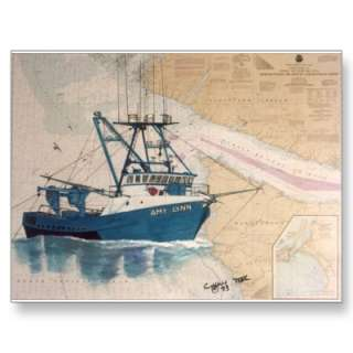 AMY LYNN West Coast Commercial Fishing Boat Postcards at Zazzle.ca