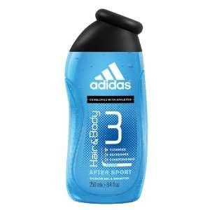Adidas   Douche Apres Sport   250 ml  Hygiène et Soins du