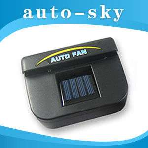 Solar Powered Car Auto Air Vent Cooling Cool Cooler Fan