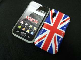 Fashion Uk United Kingdom flag Hard back Cover Case for Samsung Galaxy