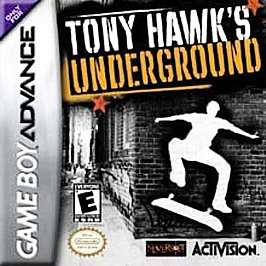 Tony Hawks Underground Nintendo Game Boy Advance, 2003 047875806450