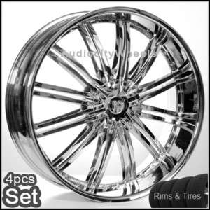 26inch Rims and Tires Chevy,Ford,Cadillac QX56 Wheels