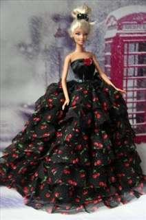 barbie nuevo princesa partid o vestido para barbie barbie nuevo