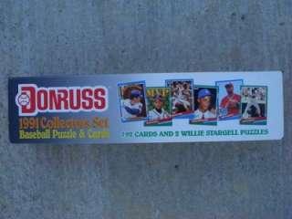 1991 Donruss Baseball Puzzle & Cards NIB and NR