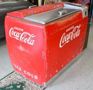 Vintage 1950s Coca Cola Cooler Thumbnail Image