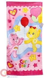 Care Bears Beach / Bath Cotton Towel  Cheer Funshine