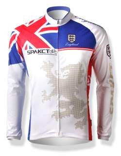 UK Mens Long Sleeves Cycling Bike Jersey