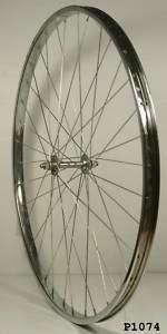 700C x 20 STEEL FRONT ROAD BICYCLE WHEEL ***P1074 R