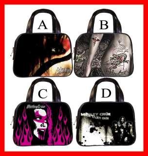 Motley Crue Metal Rock Band Hot Handbag Purse #PICK 1