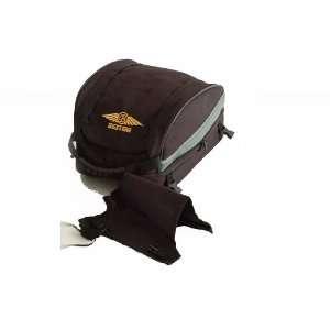 UNIVE BAG E Black Universal Sportbike Seat Tail Expandable Luggage Bag