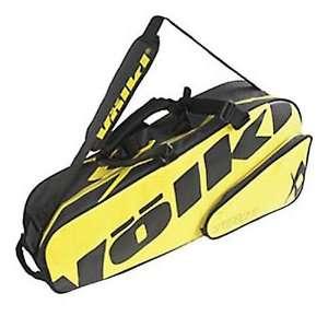 Tour Pro 3 Pack Tennis Racquet Bag   3 Racquet Capacity   Yellow/Black