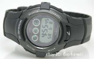 NEW CASIO G SHOCK DUAL TIME TOUGH SOLAR 200M FREE SHIP