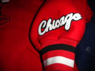 NEW RARE Mitchell & Ness Chicago Bulls Red Wool Jacket Varsity 48 XL