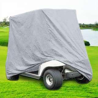 Passengers Golf Cart Cover, TAUPE. Fit EZ Go,Club Car