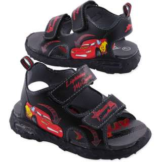 Disney   Toddler Boys Cars Light Up Sandals Disney Showcase