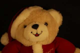 11 1996 Humfrey Stuffed Santa Christmas Teddy Bear Toy