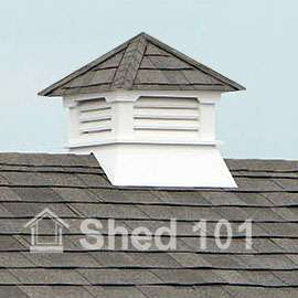 Classic Roof Cupola Plans for Shed, Garage, Home #13030 |