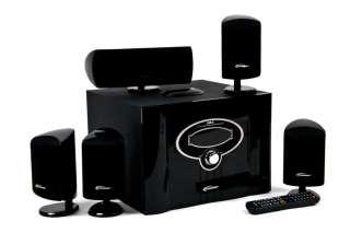 IM3 Digital 5.1 Surround Sound Home Theater Speaker System & iPod Dock
