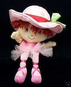 Strawberry Shortcake Ballerina Hand Puppet Doll 2003