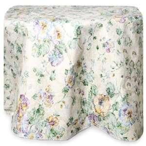 Home Fashions Secret Garden Tablecloth 70 Round