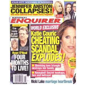 April 30, 2012 National Enquirer Katie Couric Cheating