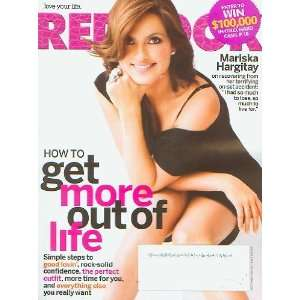 Mariska Hargitay Cover Redbook Magazine August 2009   How