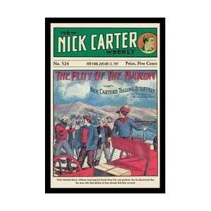 Nick Carter The Plot of the Baron 20x30 poster