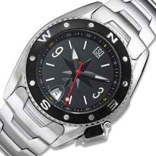 Swiss New ESQ by Movado Mens Analog Watch Stainless Steel Bracelet