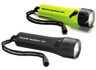 Pelican 2400 Stealth Lite 4AA Orange Xenon Flashlight 019428004255