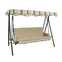 Lowes 3 Person Cushion Swing Replacement Canopy  BROWN