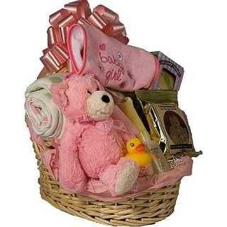 GIFT BASKET FOR BABY GIRL BASSINET   NEWBORN GIFT DVBR