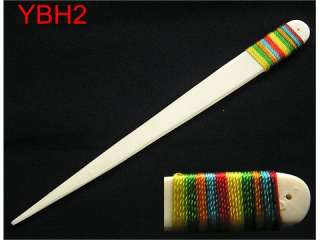 Inch Hair Stick Hand Carved With Tibetan Yak Bone