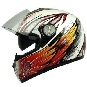 PGR DV100 THOR Dual Visor DOT APPROVED Motorcycle Full Face Helmet