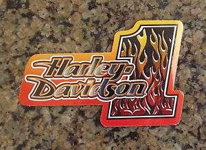 New Harley Davidson Licensed Decal Biker Motorcycle Tank Sticker #1