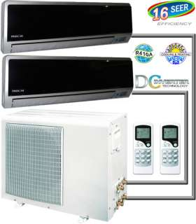 Ductless Mini Split Inverter Air Conditioner, Heat Pump