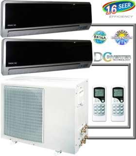 Ductless Mini Split Inverter Air Conditioner, Heat Pump