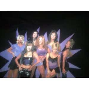 NWO Large Black T Shirt Nitro Girls TNA ECW WWE WWF
