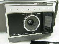 Vintage Polaroid Land Camera Model J66 Instant Color Film w/Leather