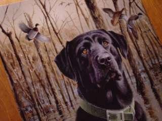 Labrador Dog Duck Hunter Hunting Lodge Lake Log Cabin Home Decor Sign