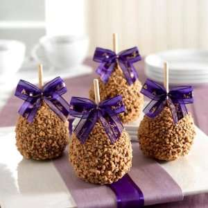 Milk Chocolate Toffee Walnut Petite Gourmet Caramel Apple Favors