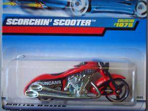 Hot wheels 1999 Collectors Scorchin Scooter Red #1075